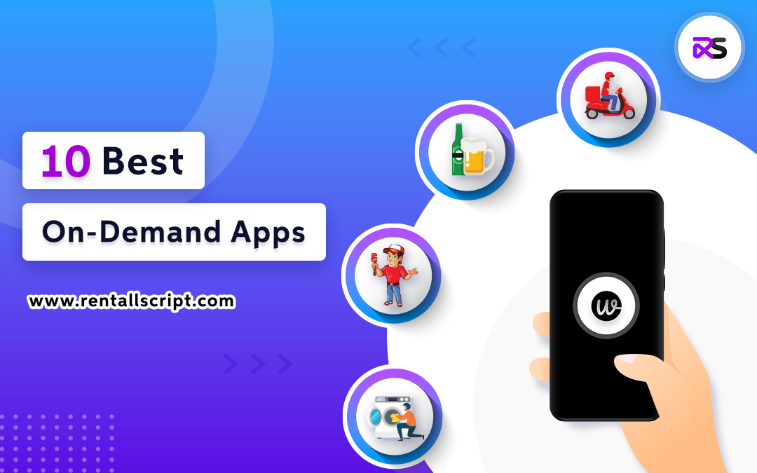 Top 10 trending on-demand apps in the US