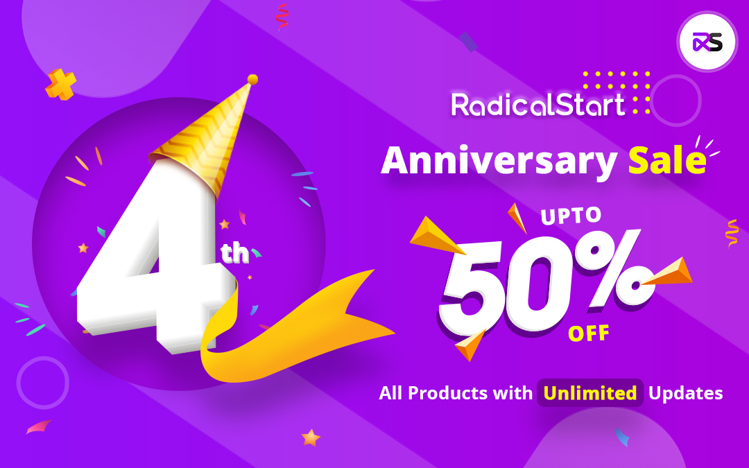RadicalStart: Celebrating 4th Anniversary!