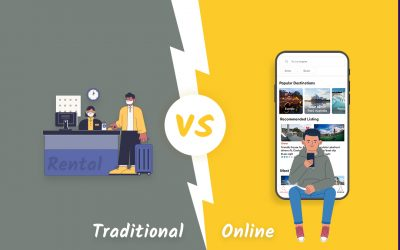 A comparison of traditional vs online rental business