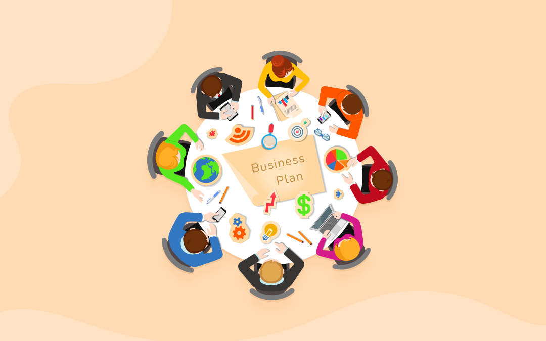5 steps to follow and tools to use for writing a strong online business plan