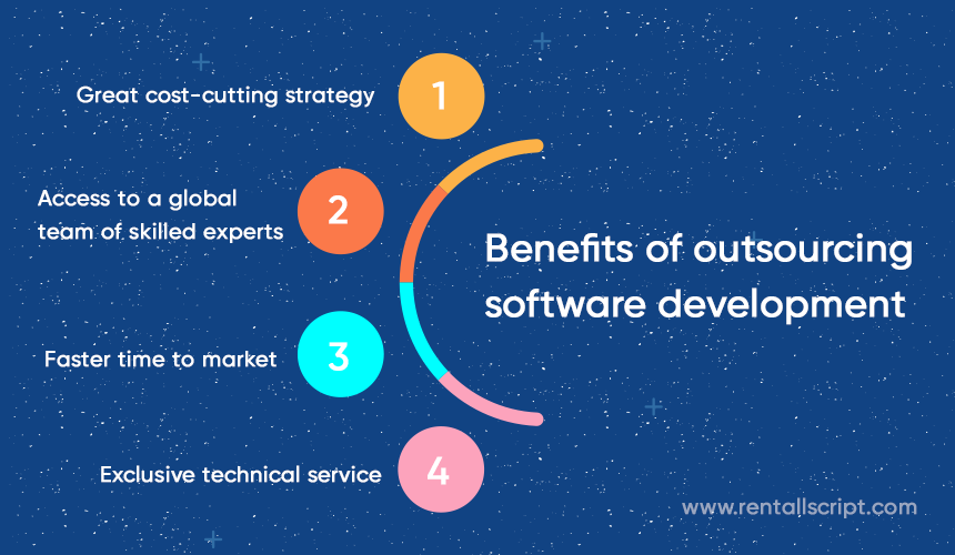 Benefits of outsourcing software development