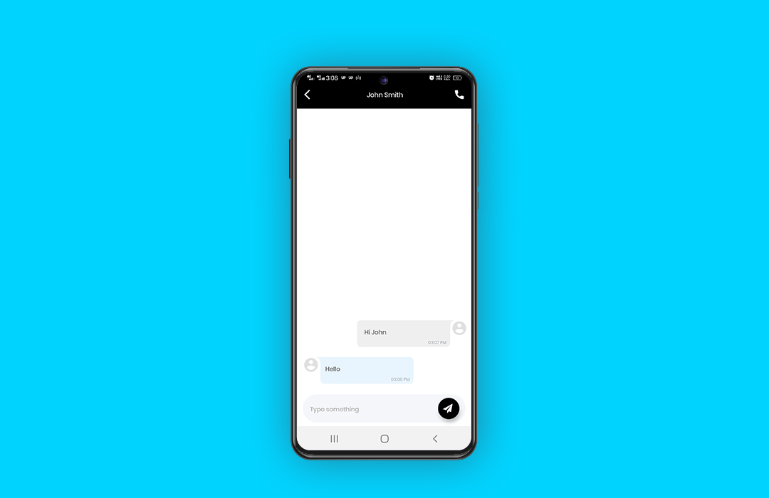 in-app chatbox