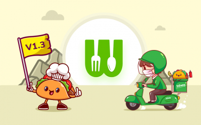 WooberlyEats V1.3 is rolled out! Let's get to know what's new!