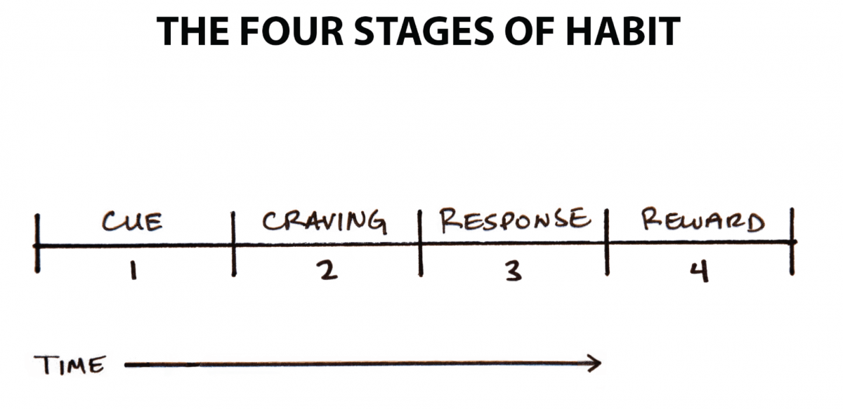 Stages of habits